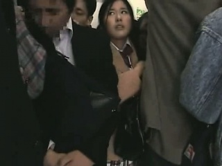 Schoolgirl groped overwrought Stranger in a crowded Acquaint 09