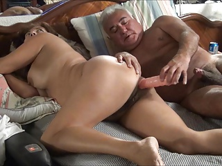 ASIAN WIFE Appreciate DILDO Plus COCK