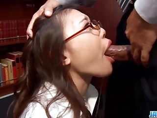 Subtitles - Ibuki, Japanese secretary, fucked in slot