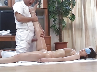 Horny Japanese Wives Massaged with an increment of then Fucked at Home 4 - CM