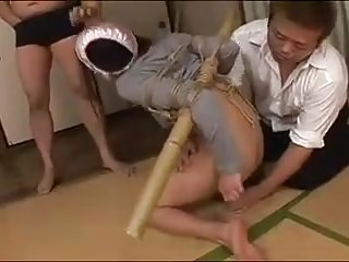 japanese matuer  tied up bdsm
