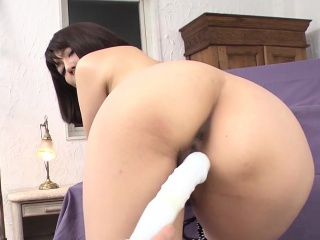 Retiring Japanese girl more innocent tits loves when say no to wet