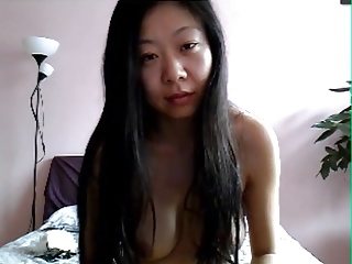 Sexy Chinese Wife exceeding Skype 5