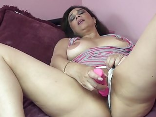 Asian mother masturbation