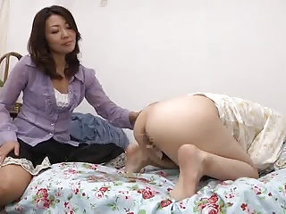 punished with spanking added to enema