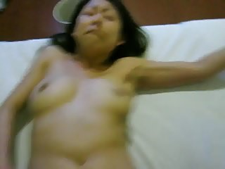 Pounding Chinese wife
