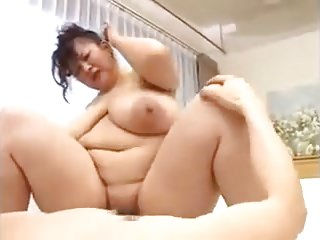 Bbw japan very chubby chest tits lord it over asian censored