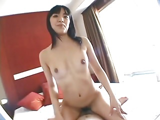 A Cute Japanese obtain a Creampie. MK