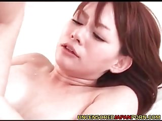 Uncensored Japanese Hardcore MILF porn Stockings cougar sexual relations