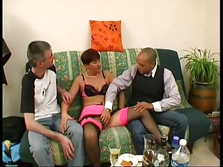 Anais gets punished beside a gangbang