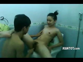Vault asian charm slut piss shower