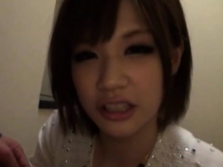 Hot-tempered nipponese gal 's vag is rammed constant