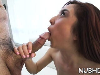 Satisfying redhead minx Mila Jade get fucked far indiscretion