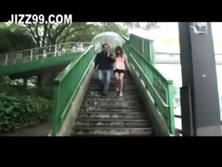 horny milf fucked greater than bus in front of costs