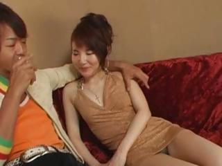 ancillary hot asian loves anal copulate